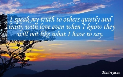 Affirmation for Speaking Your Truth