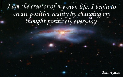 Affirmation for Creating Positive Reality