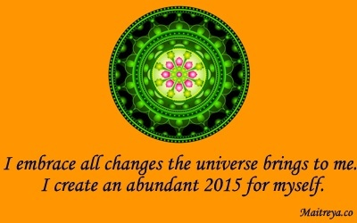 Affirmation for Creating An Abundant 2015