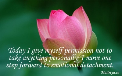 Affirmation for Emotional Detachment