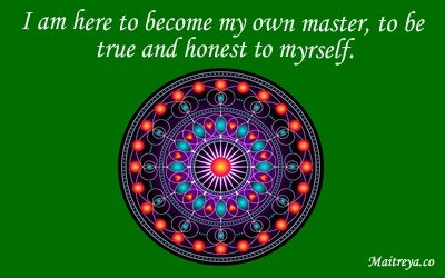 Affirmation for Becoming Your Own Master