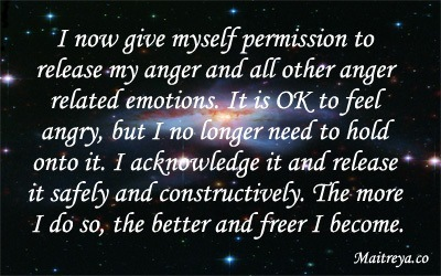 Affirmation for Releasing Anger