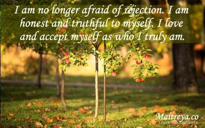 Affirmation for Letting Go Fear of Rejection