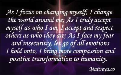 Affirmation for Self Change