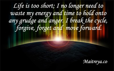 Affirmation for Letting Go of Anger