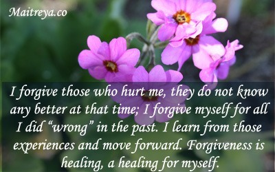Affirmation for Forgiveness