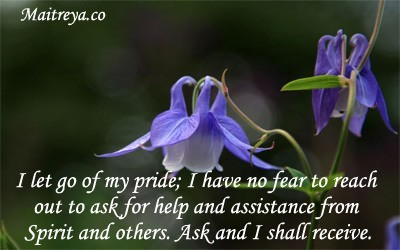 Affirmation for asking for help