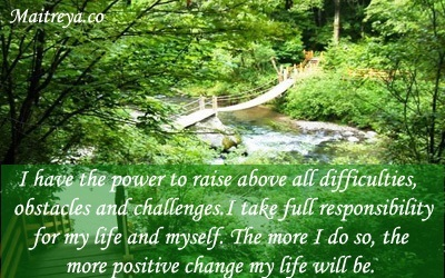 Affirmation for Taking Charge of Your Life