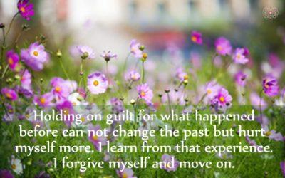 Affirmation for Letting Go of Guilt