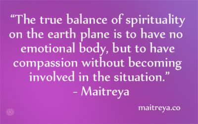 Maitreya Quote on Spirituality