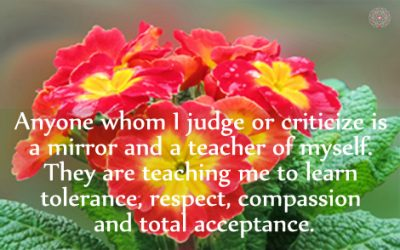 Affirmation for Having No Judgment
