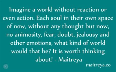 Maitreya Quote on World Peace