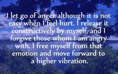 Affirmation for Releasing Anger