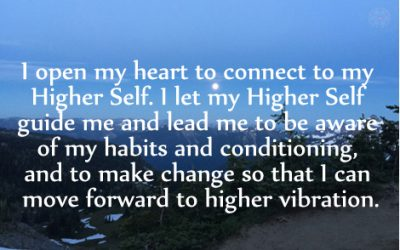Affirmation for Changing Habits and Conditioning
